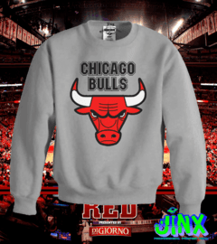 Playera o Camiseta Sudadera Chicago Bulls