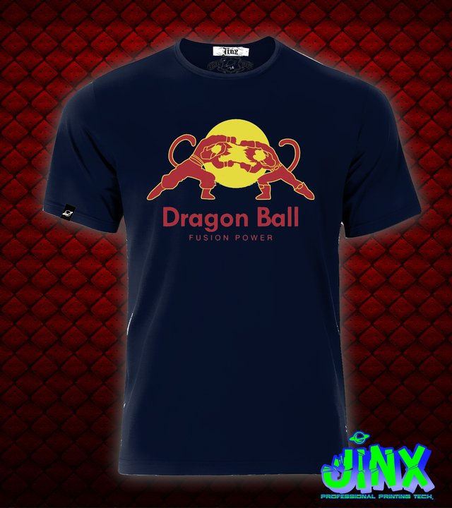 Playera o Camiseta Goku Red Dragon Bull