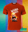 Playera Camiseta Intensamente Furia