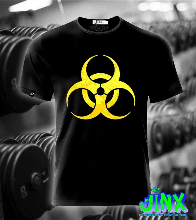 mutant gym playera