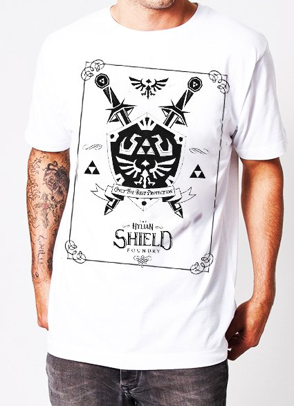 playera zelda hilyan shield