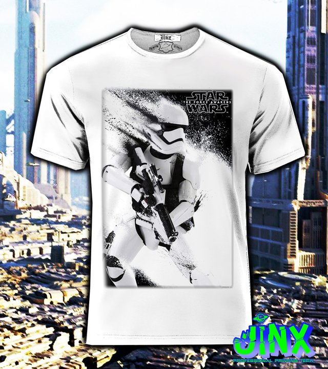 Playera o Camiseta Star Wars Trooper