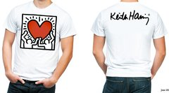 playera camiseta keith haring