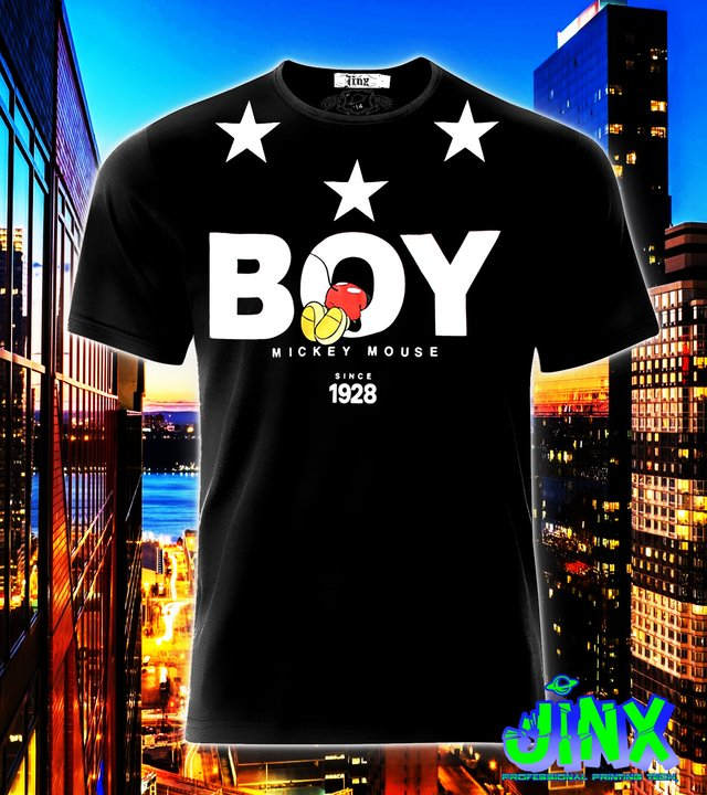 Playera o Camiseta Boy Mcy