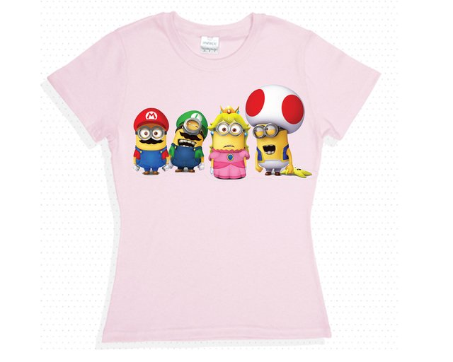 camisetas minion bross