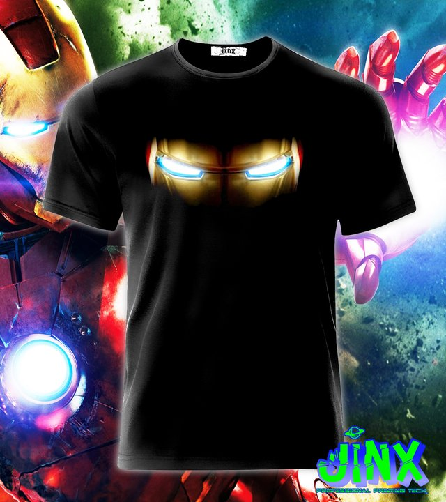Playera o Camiseta Iron Man Eyes