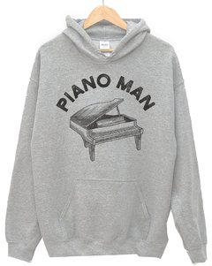 SUDADERA Piano Man + musical