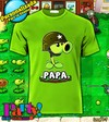 Playera Personalizada Plantas vs Zombies 1