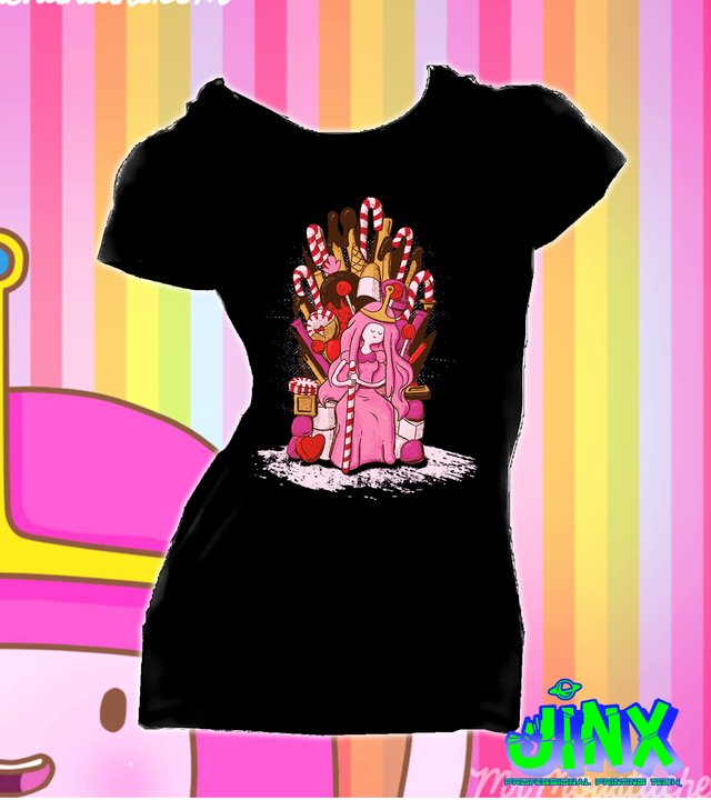 Camiseta Princesa Chicle