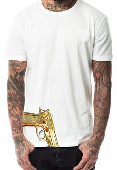 camiseta playera arma 9mm