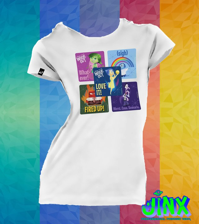 Playera Camiseta Intensamente