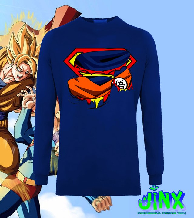 Playera Goku vs Suerman