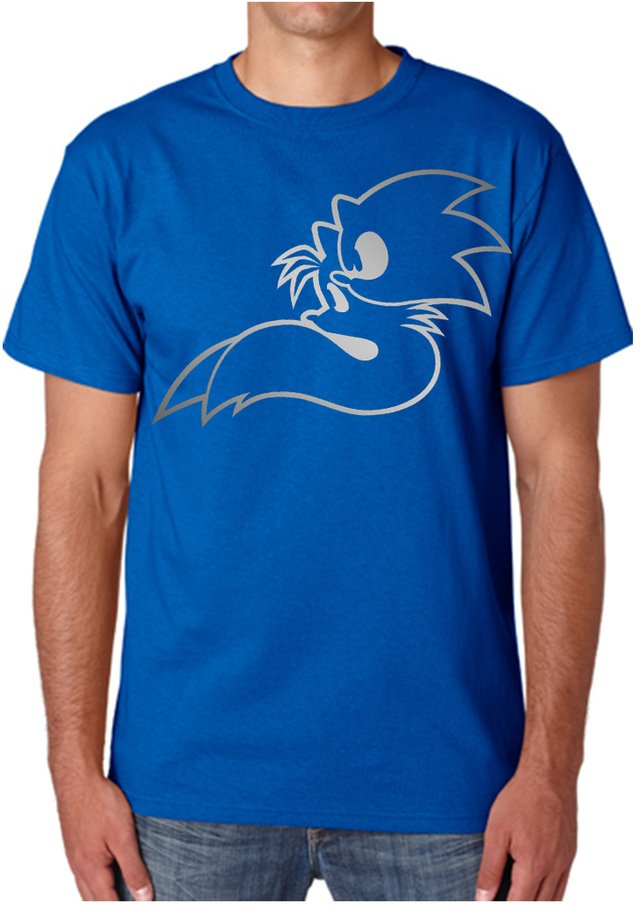 camiseta playera sonic