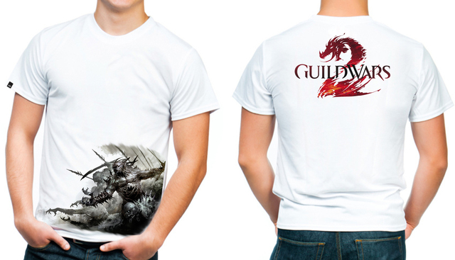 playera camiseta guild wars