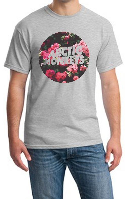 camiseta playera logo artic monkeys