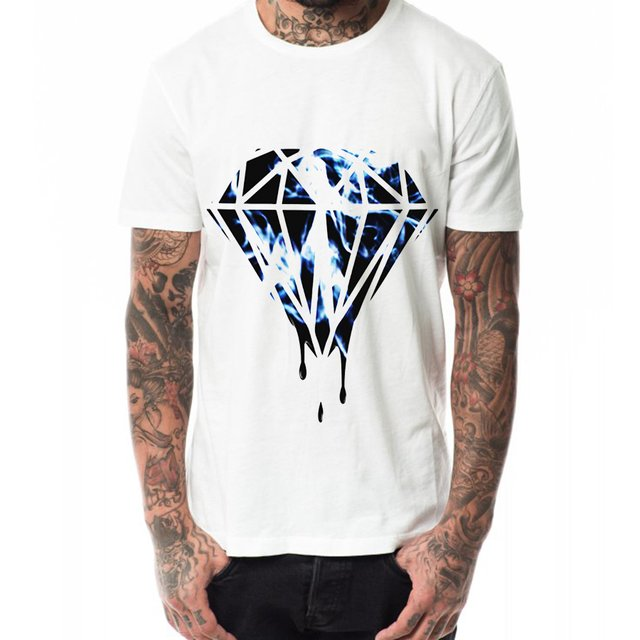 diamante camiseta
