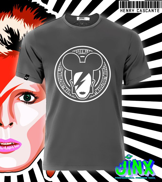 Playera david Bowie