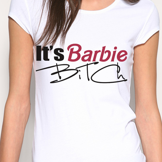 blusa, barbie, bitch