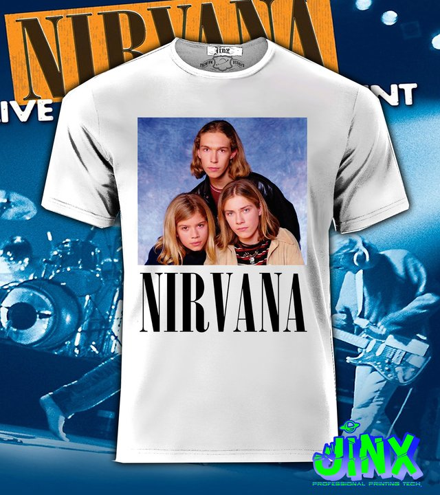 Playera o Camiseta Nirvana