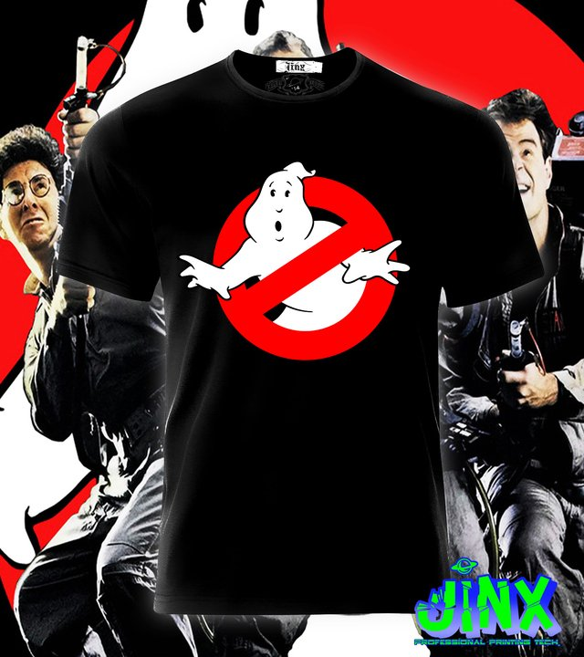 Playera o Camiseta Ghostbusters
