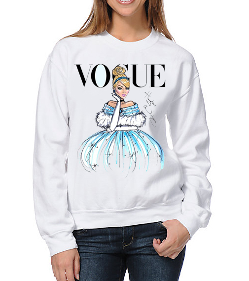 sudadera disney vogue