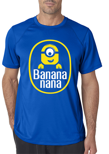 camiseta playera minion banana
