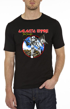 playera star wars iron maiden