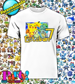 Playera Personalizada Pokemon  en internet