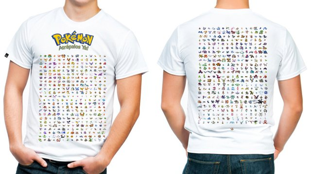 playera o camiseta 721 pokemon