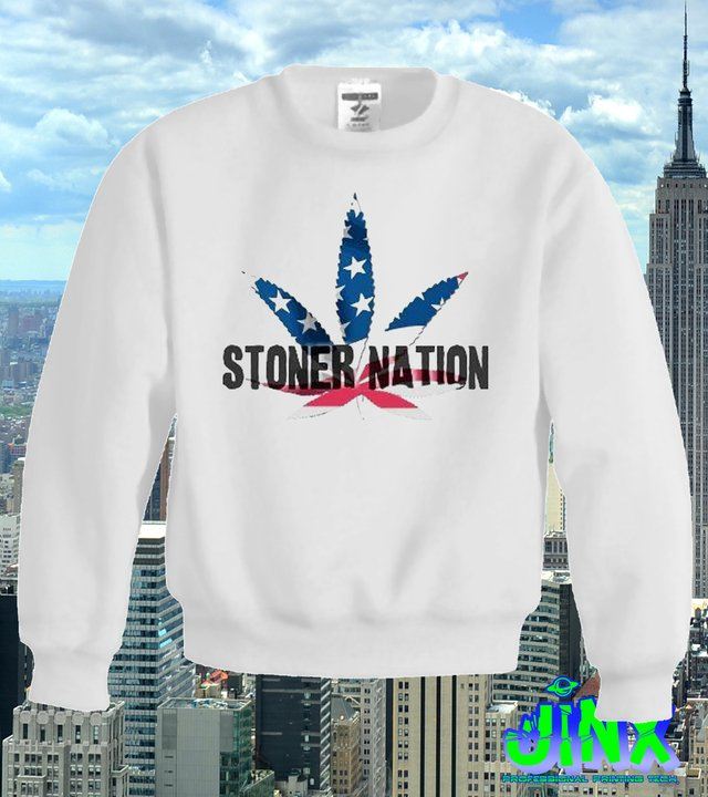 Sudadera Moda Stoner Nation