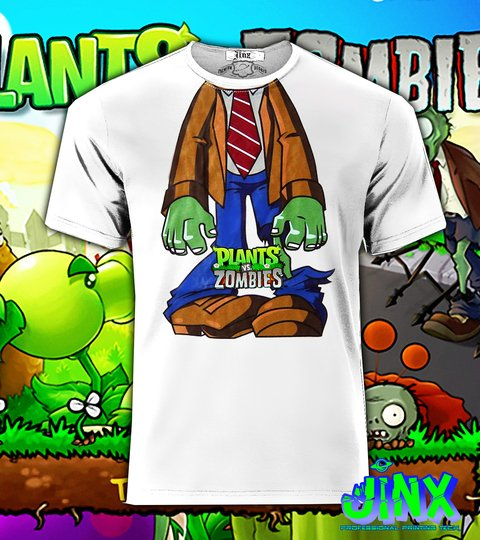Playera o Camiseta Plantas vs Zombies