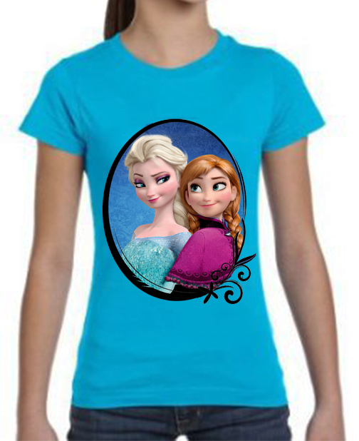 camiseta playera elsa frozen