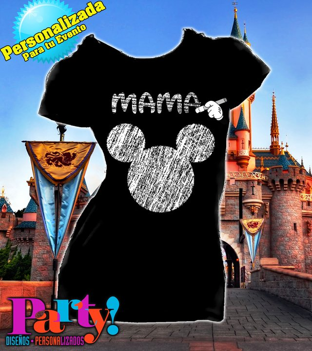 Playera Personalizada Mickey Mouse Gis  - comprar online
