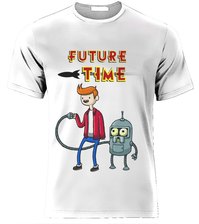 futurama playera