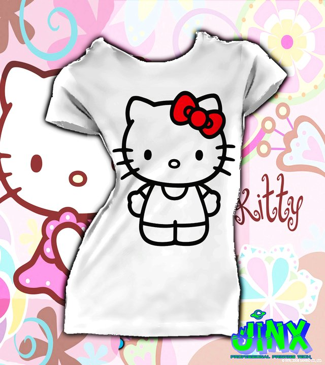 Playera o Camiseta Hello Kitty - comprar online