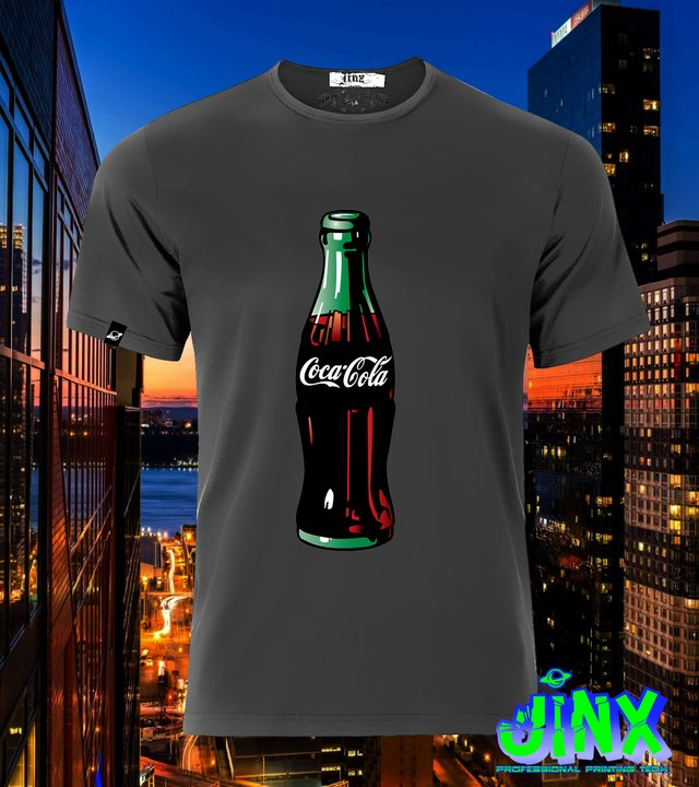 Playera Coca Cola