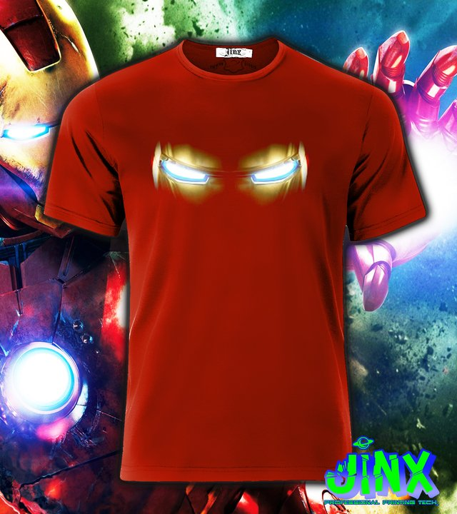 Playera o Camiseta Iron Man Eyes - comprar online