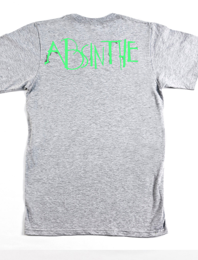 alcohol absinthe camiseta