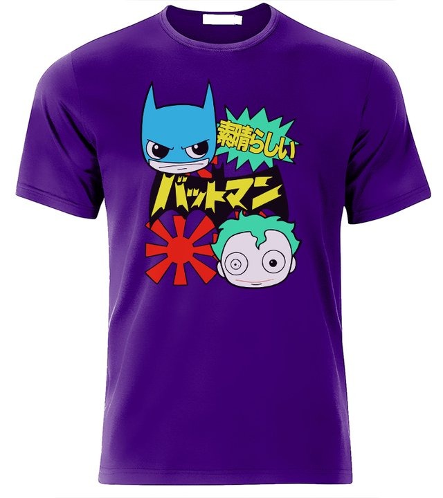 playera batman caricatura
