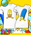 Playera Personalizada Simpson Homero & March