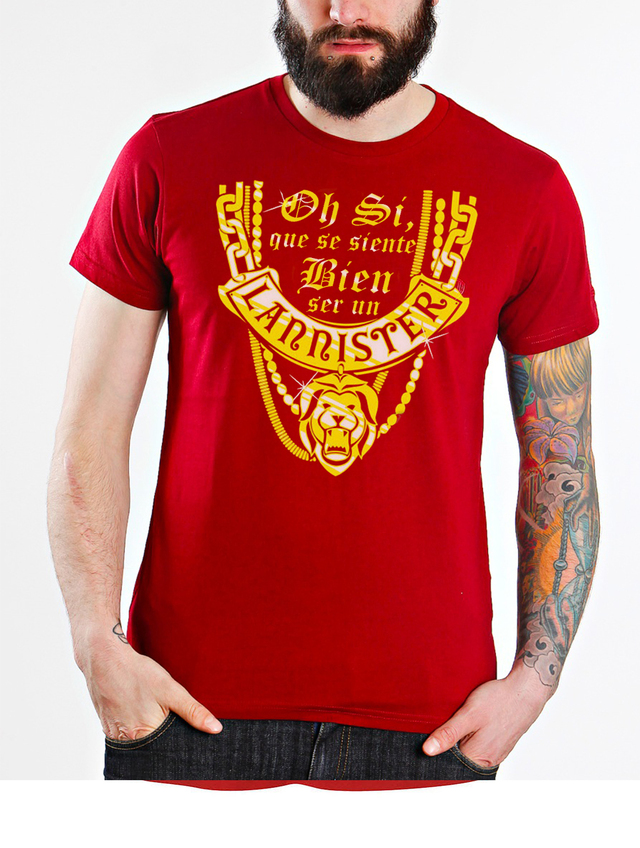 camiseta playera game of thrones