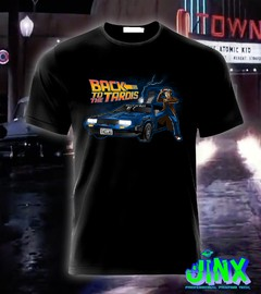 camiseta moda dr who