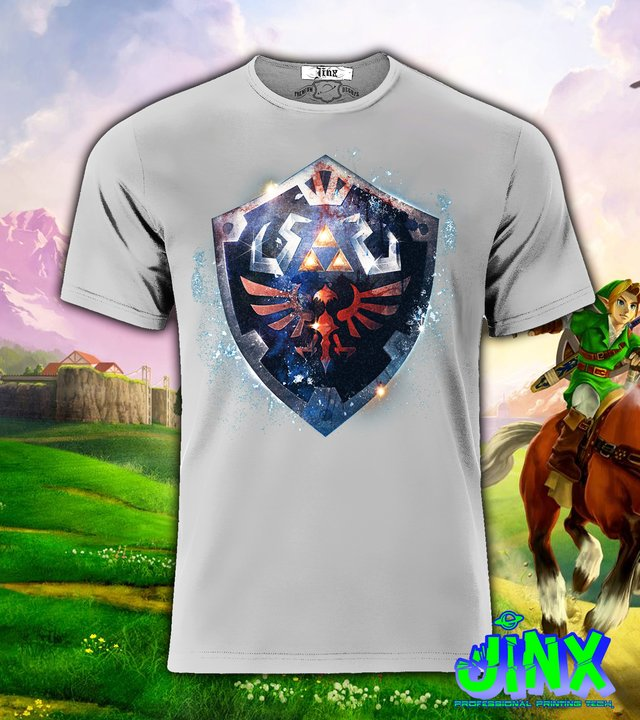 Playera o Camiseta Zelda Shield en internet