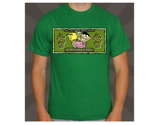 playeras, cartoon network, edd ed y eddy