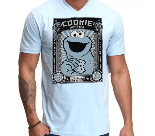 Playera comegalletas