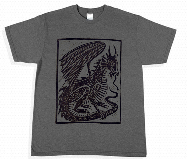 camiseta playera dragon