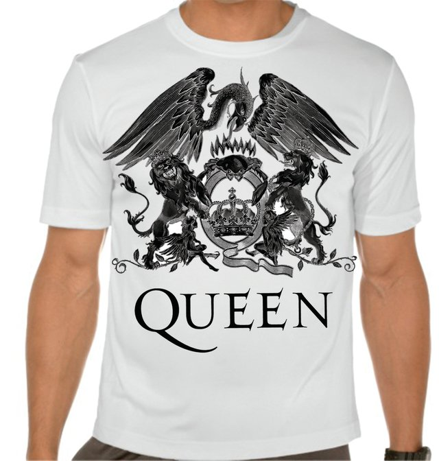 playera o camiseta queen logo