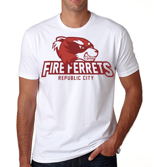 camiseta playera avatar fuego