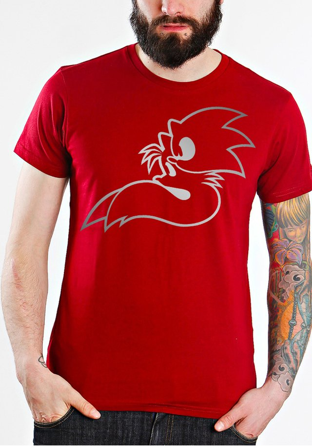 camiseta playera sonic the hedge
