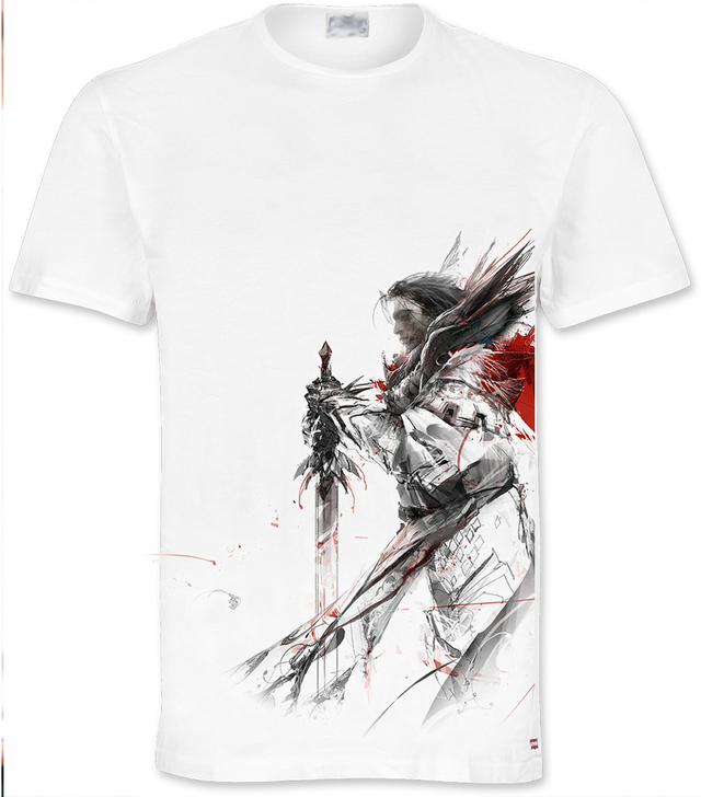 camiseta o playera guild wars